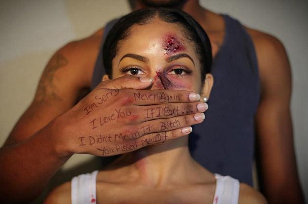 Jovem faz campanha contra violência doméstica e bomba na web