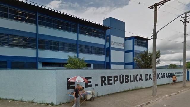Incidente aconteceu na Escola Estadual República do Nicarágua (Crédito: Reprodução)