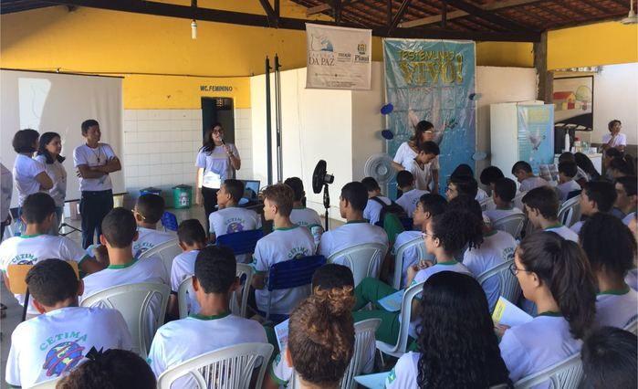 Fazenda da Paz inicia projeto em escolas do Piauí (Crédito: Francelino Carvalho)
