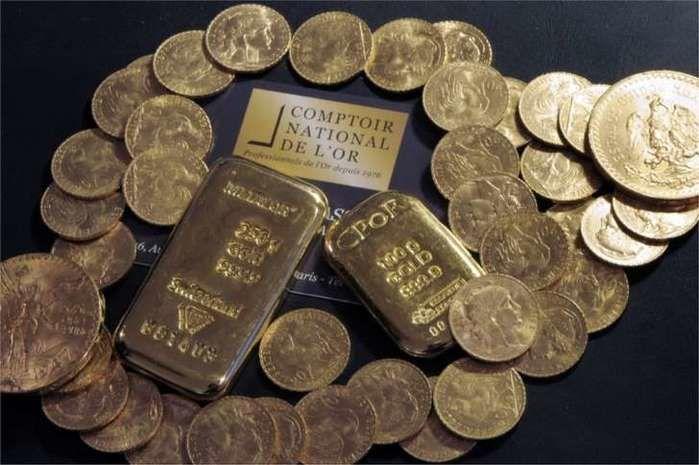 Tesouro de 100 quilos de ouro