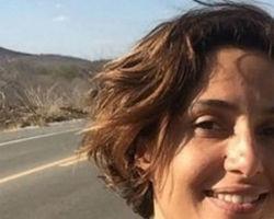 Camila Pitanga volta ao nordeste dois meses após morte de Montagner