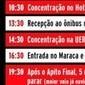 Mesmo com retorno garantido, torcida do Vasco organiza protesto