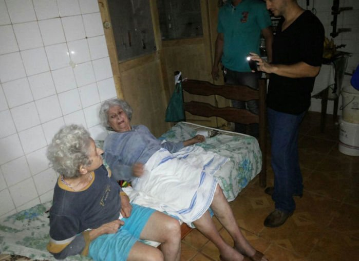 Irmão é preso por manter idosas em cárcere privado (Crédito: reprodução)