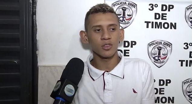 Daniel Barros do Nascimento, mais conhecido como Catita (Crédito: Rede Meio Norte)