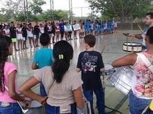 Primeiro campeonato de futsal da juventude