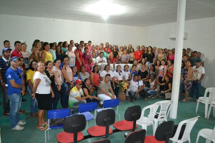 Agentes comunitários de saúde e de endemias participam de reunião - Imagem 47