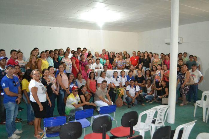 Agentes comunitários de saúde e de endemias participam de reunião - Imagem 1