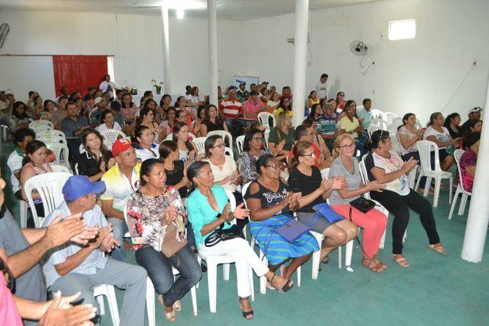 Agentes comunitários de saúde e de endemias participam de reunião - Imagem 39