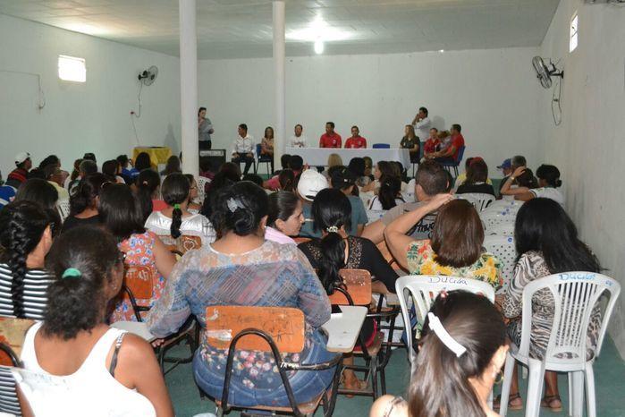 Agentes comunitários de saúde e de endemias participam de reunião - Imagem 28