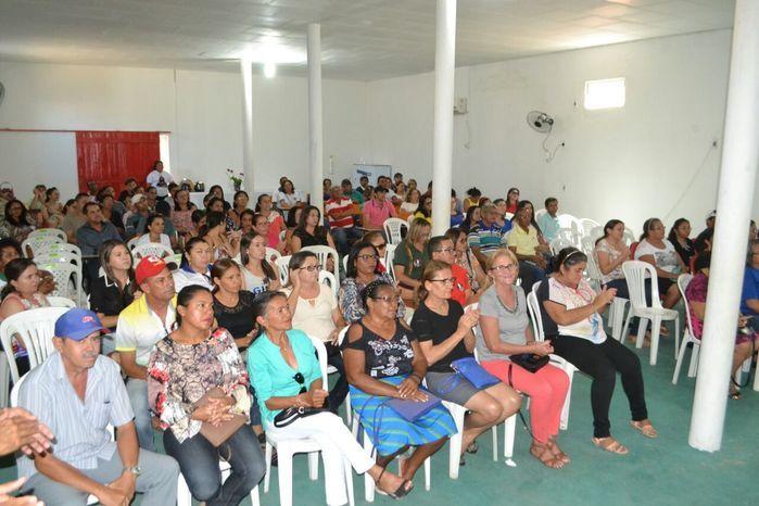 Agentes comunitários de saúde e de endemias participam de reunião - Imagem 37