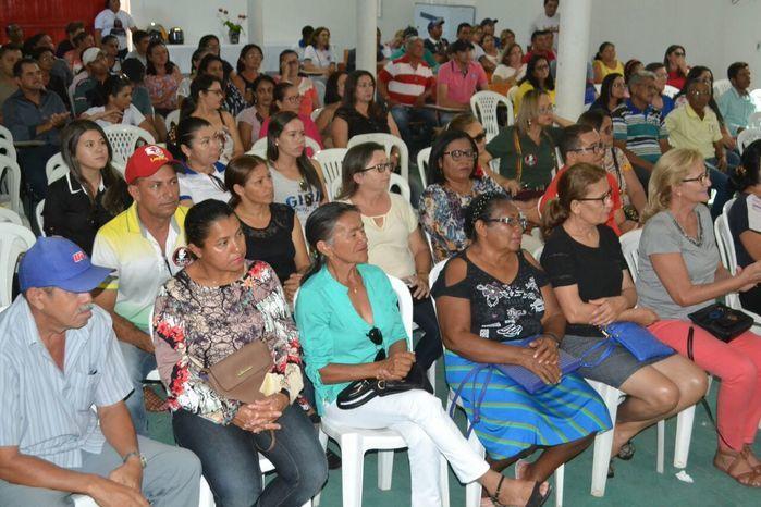 Agentes comunitários de saúde e de endemias participam de reunião - Imagem 27