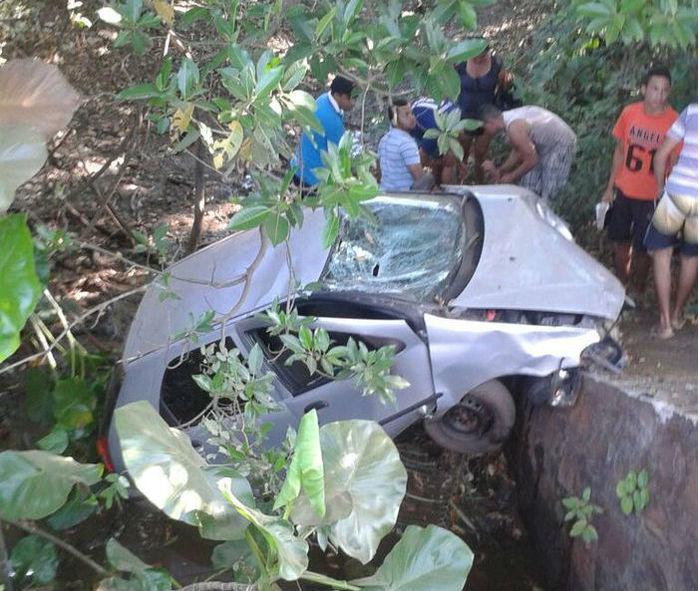 Veículo envolvido no acidente ocorrido em agosto deste ano