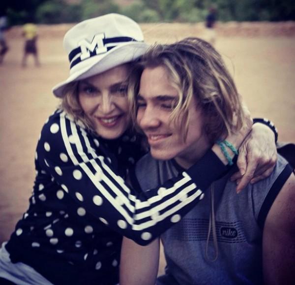 Madonna  e Rocco  (Crédito: Reprodução/ Instagram)