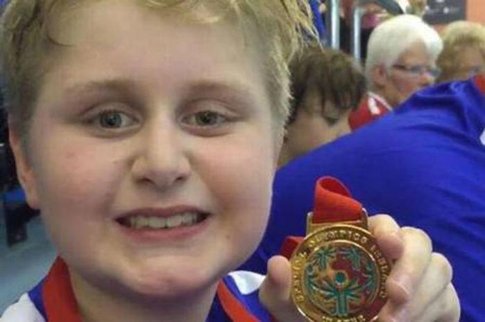 Rory Logan ganhou outras duas medalhas