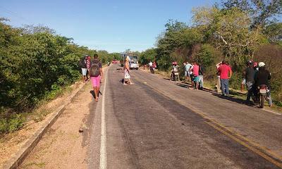 Local onde ocorreu o grave acidente (Crédito: Portalgilbues)