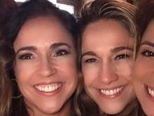 Fernanda Gentil comemora aniversário com Daniela Mercury