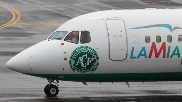 Avião que levava a Chapecoense à Colômbia caiu (Crédito: Reprodução)