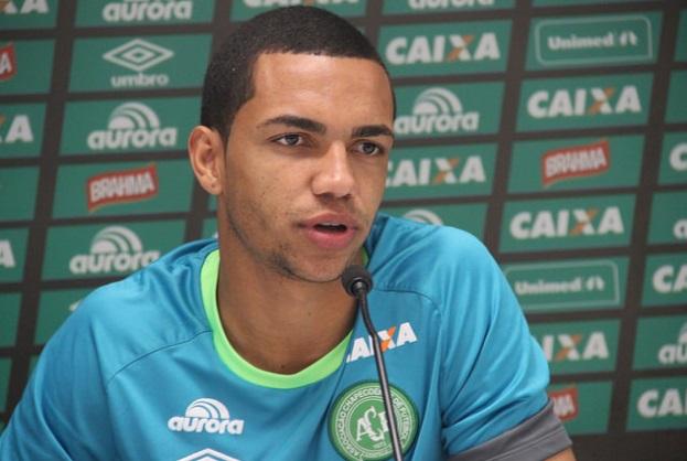Tiaguinho, da Chapecoense (Crédito: Divulgação)