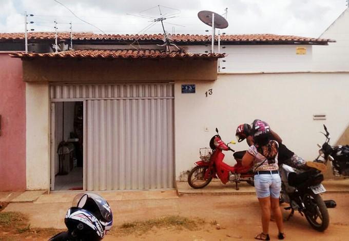Casa da família no bairro da Cidade Operária, em São Luís (Crédito: Afonso Diniz )