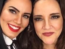 Leticia Lima posta foto com Ana Carolina em sua rede social
