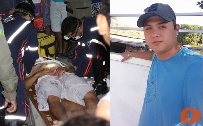 Taylan Pereira foi baleado na porta de casa (Crédito: Reprodução)