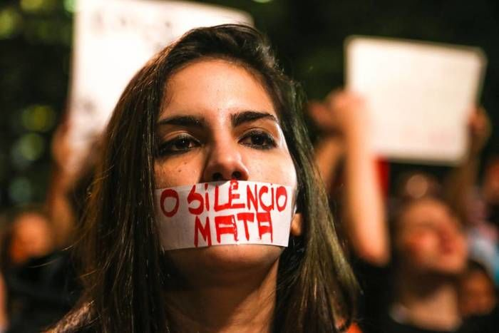 Dados de estupro no Brasil (Crédito: Reprodução)