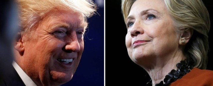 Nova pesquisa aponta nova vantagem de Hillary sobre Trump