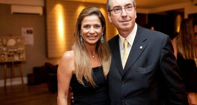 Eduardo Cunha e Claudia Cruz (Crédito: Divulgação)
