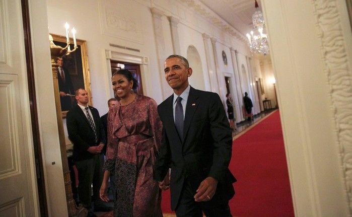 Barack Obama afirma que 'Michelle nunca será candidata'  (Crédito: Reuters)