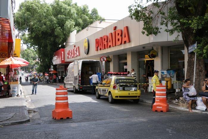 Calçadões do centro de Teresina (Crédito: Rômulo Piauilino)