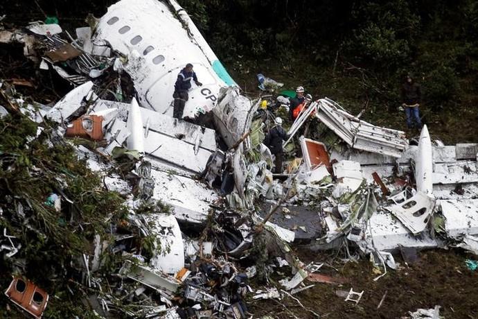 Piloto relata diálogo entre aeroporto colombiano e voo da Chapecoense