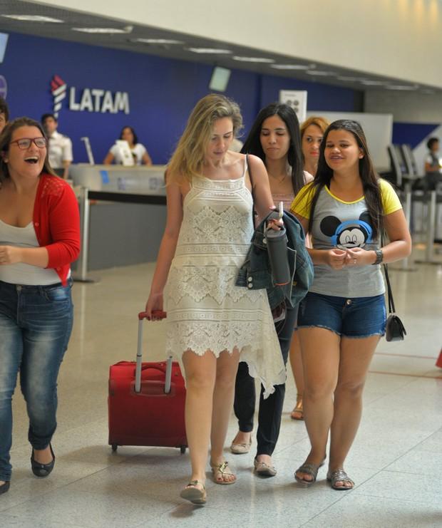 Ana Paula Renault diz ter sido agredida por taxistas em aeroporto (Crédito: AgNews)