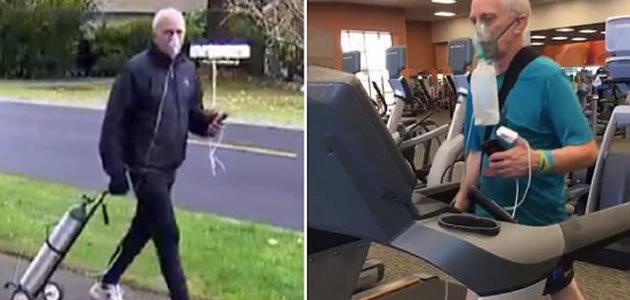 Homem com doença terminal completa maratona de 42km
