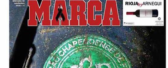 Tragédia da Chapecoense é destaque em principais jornais do mundo