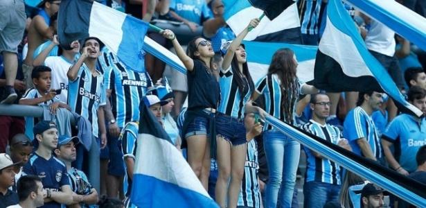 Torcida do Grêmio (Crédito: Reprodução)