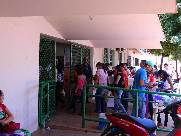 Estudantes em Picos (Crédito: Riachão Net)