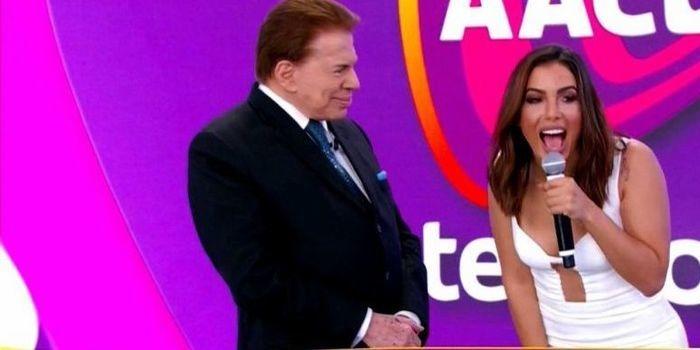 Silvio Santos nega convite de Anitta para dançar: 'Muito excitado'