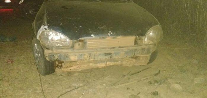 Veículo envolvido no acidente em São João da Canabrava (Crédito: Reprodução)