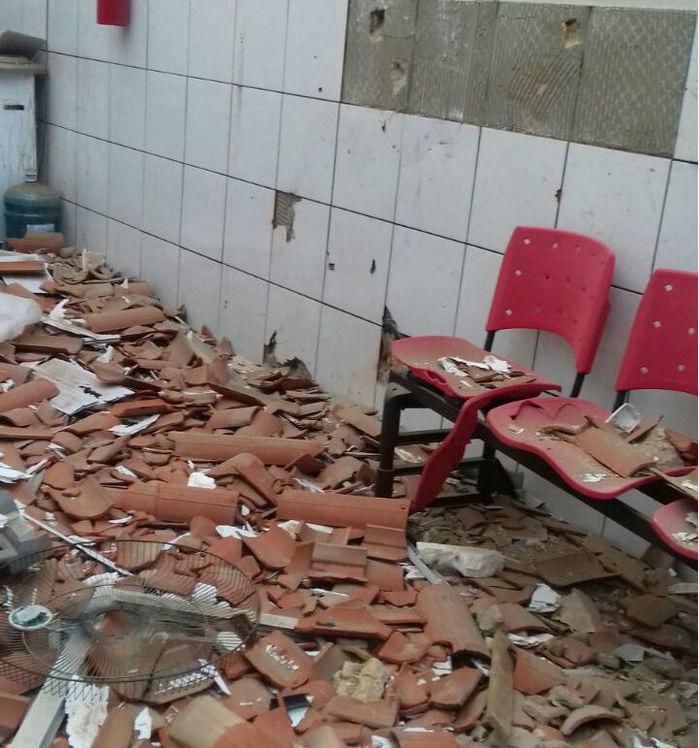 local ficou praticamente destruído (Crédito: Reprodução)