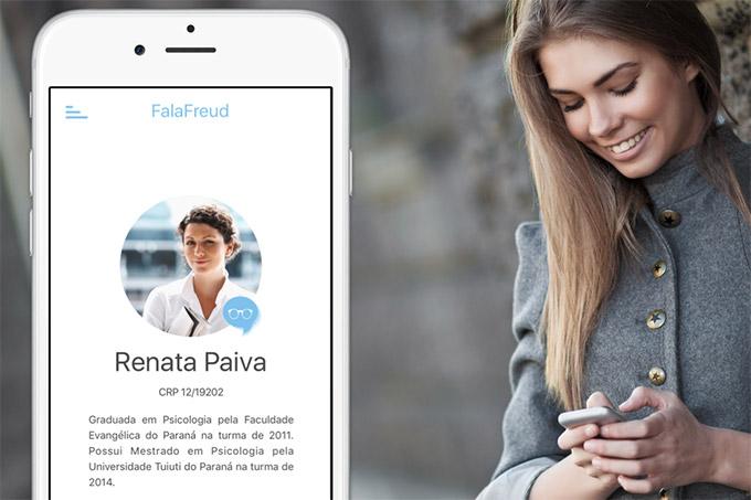 Maioria das pessoas cadastradas do aplicativo neste primeiro momento são mulheres