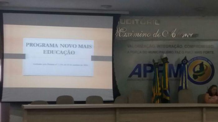 SME de Alegrete participa de Seminário da Undime e Seduc - Imagem 1