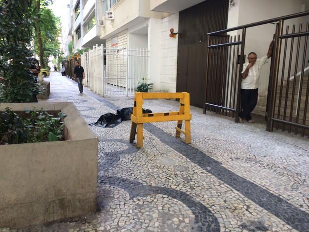 Mulher caiu de prédio em Copacabana
