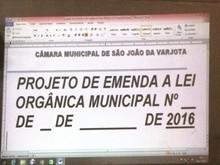 Câmara de Vereadores Promove Alterações na Lei Orgânica Municipal