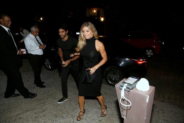 Angélica recebe famosos em festa para comemorar seus 43 anos (Crédito: Delson Silva / AgNews)