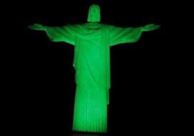 Cristo Redentor, no Rio de Janeiro (RJ)