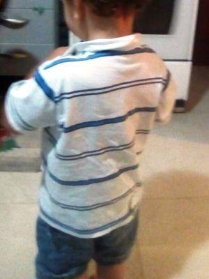 Garoto foi agredido em creche  (Crédito: Arquivo Pessoal)