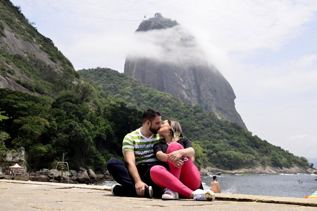 Andressa Urach e o marido (Crédito: Reprodução)