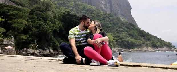 Andressa Urach curte lua de mel com o marido no Rio de Janeiro