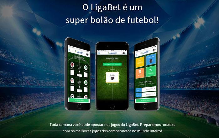 Ligabet: Participe de bolão de futebol online e ganha prêmios (Crédito: Reprodução)