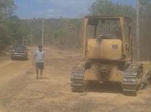 Dr. Marcílio Kalson consegue estrada para zona rural